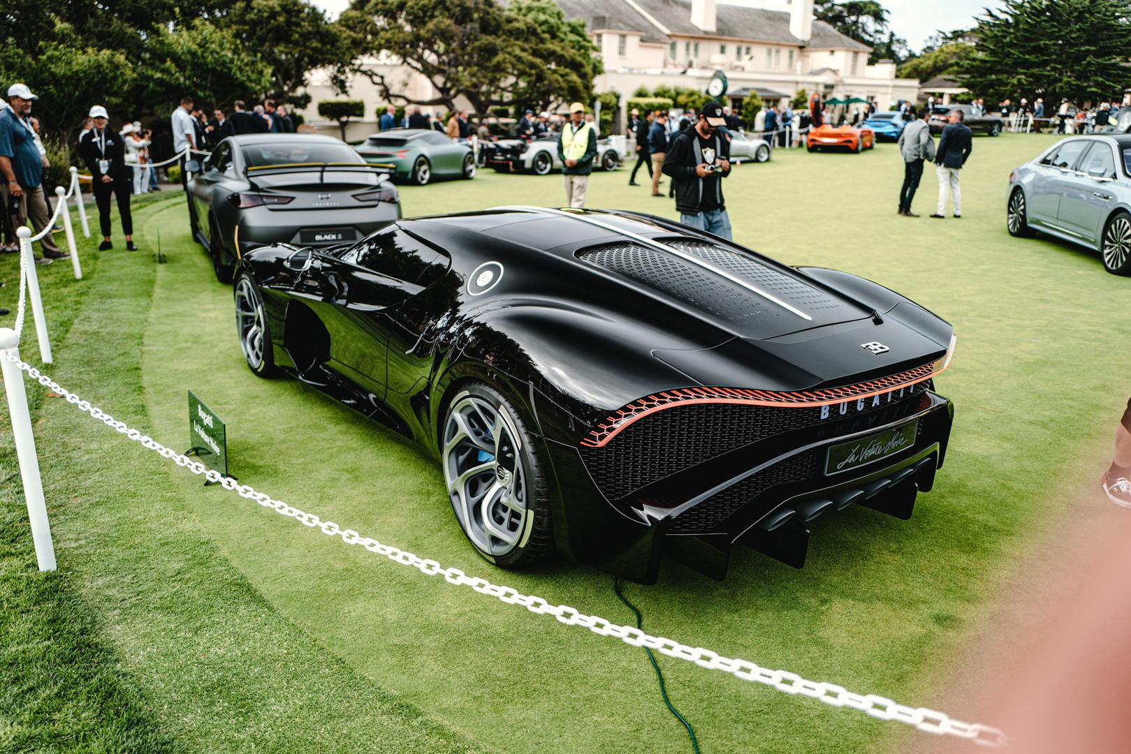 Bugatti LaVoiture Noire Rear