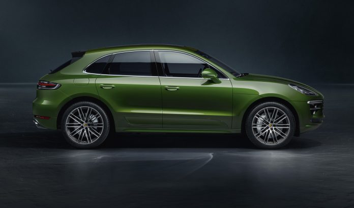 Green 2020 Porsche Macan Turbo
