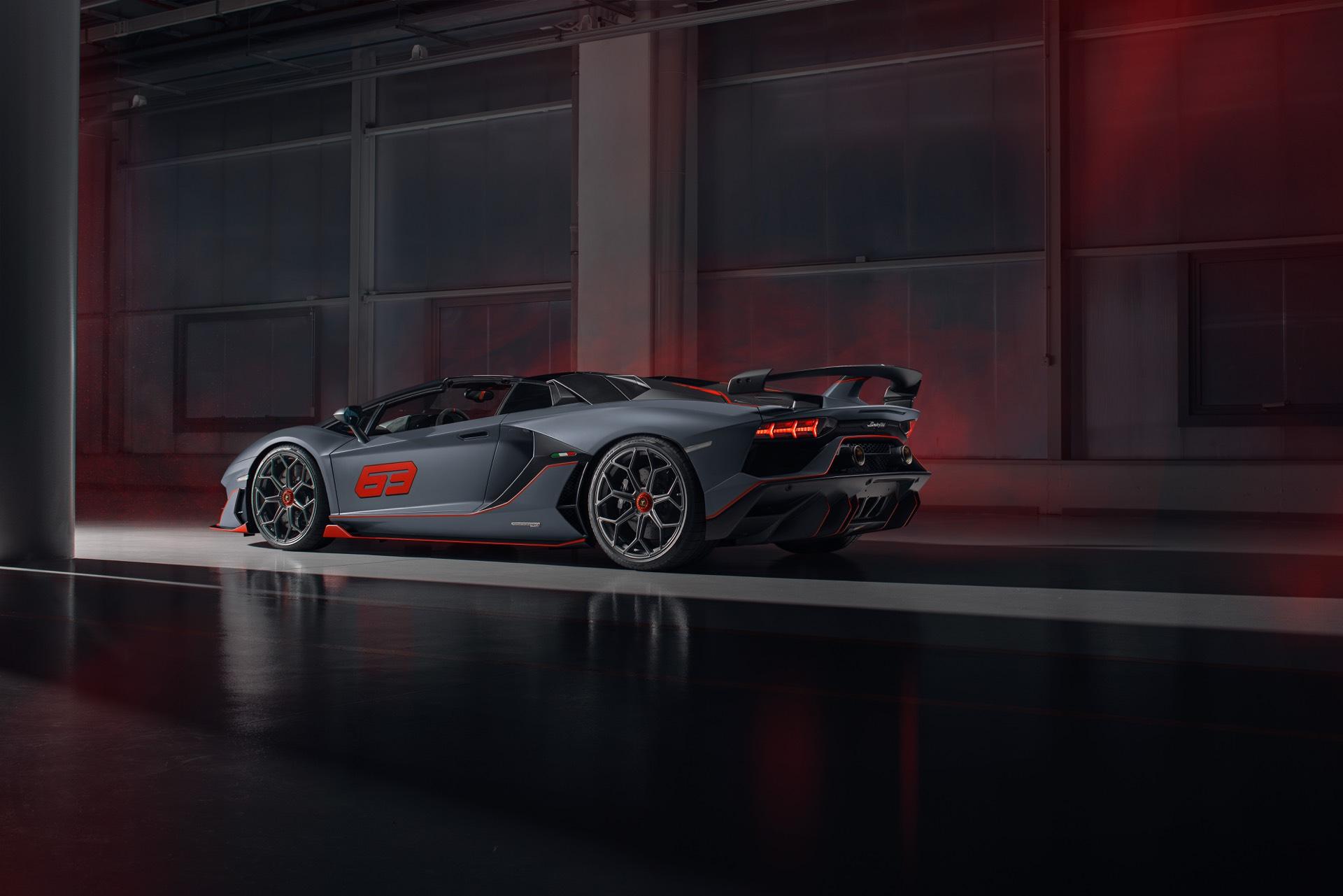 Lamborghini Aventador SVJ 63 Roadster