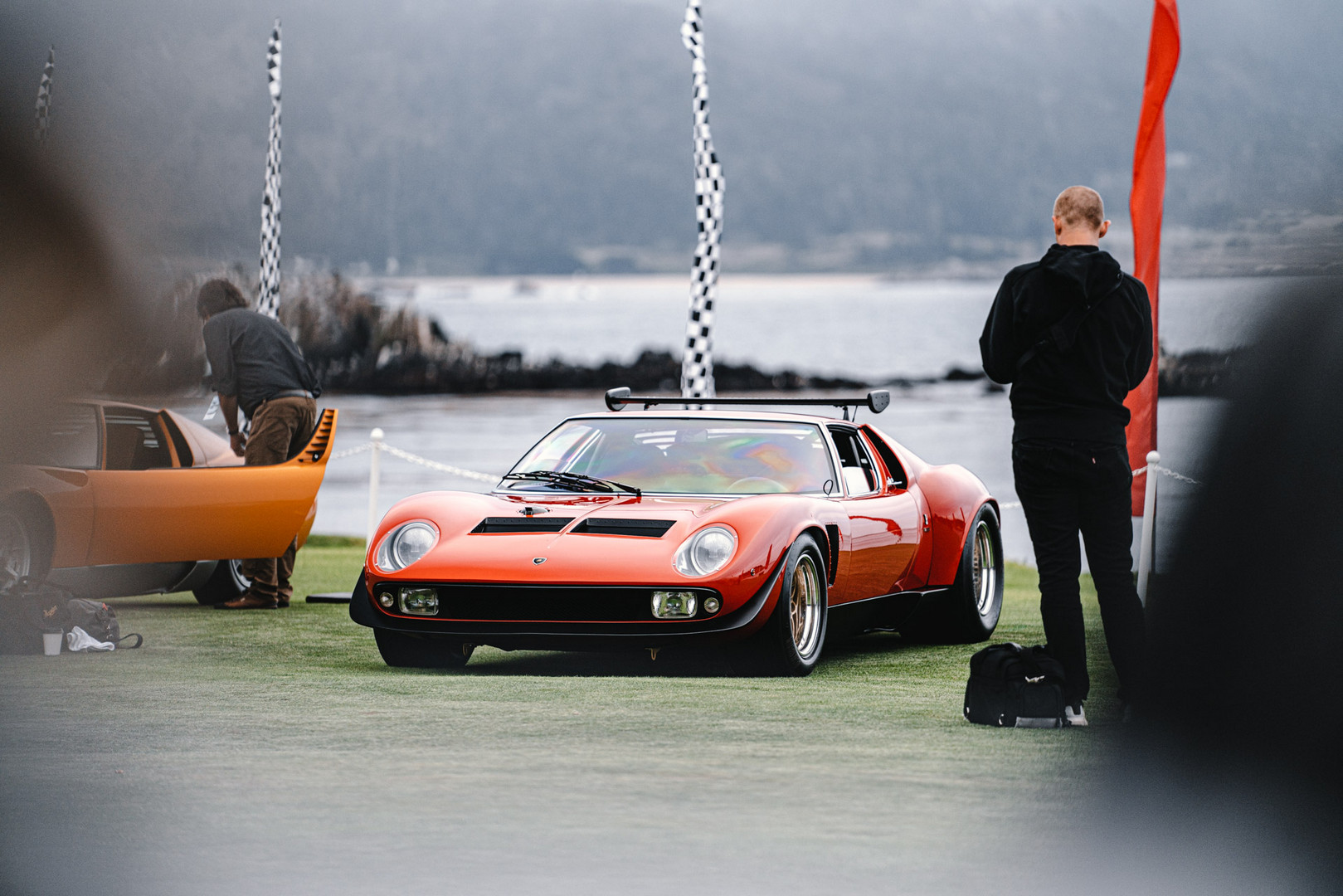 Lamborghini Miura Wing