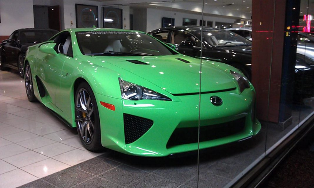 Lexus LFA Successor