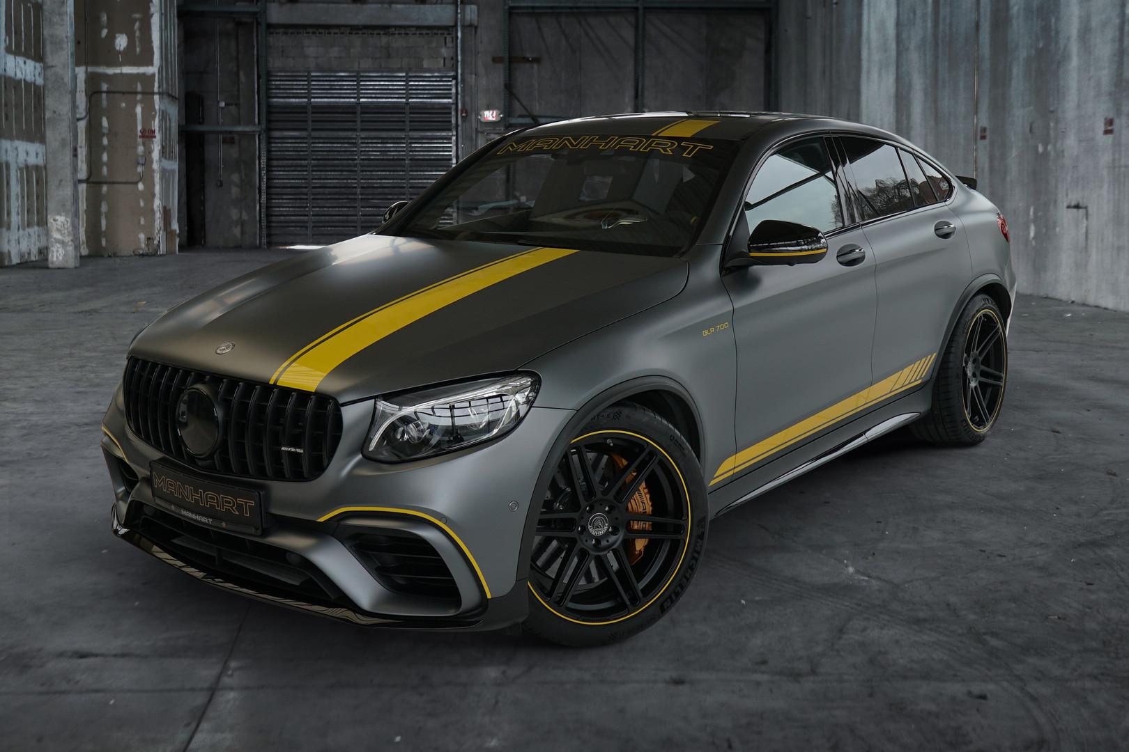 Manhart Reveals 700hp Mercedes Amg Glc 63 S Coupe Gtspirit