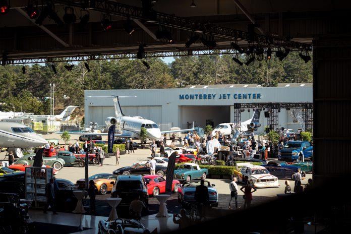 McCalls Motorworks Revival Monterey Jet Center