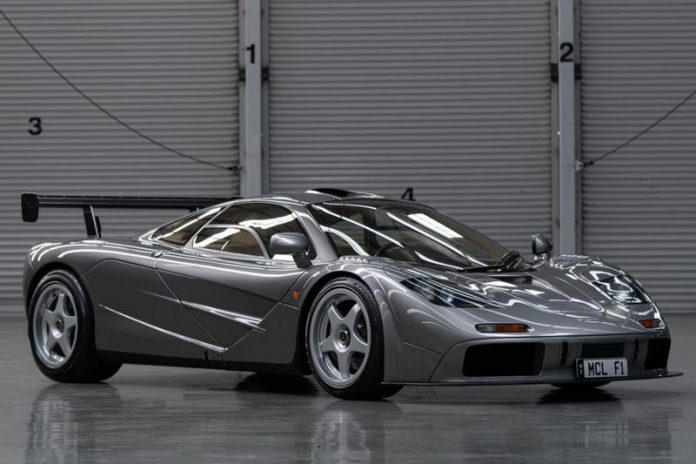 McLaren F1 LM Auction
