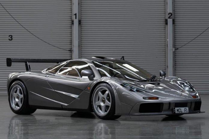 McLaren F1 LM Auction