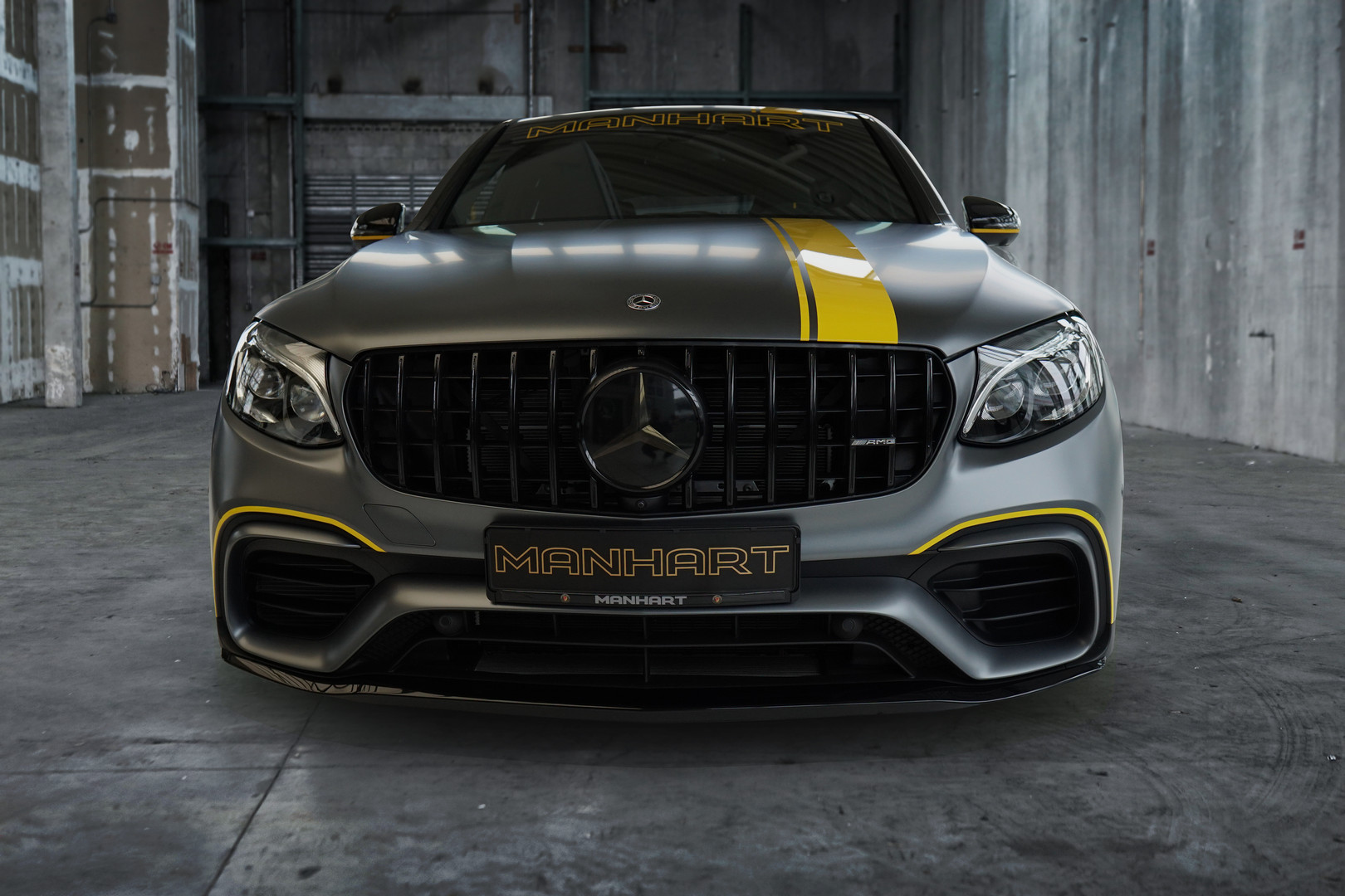 Mercedes-AMG GLC 63 S Coupe Front