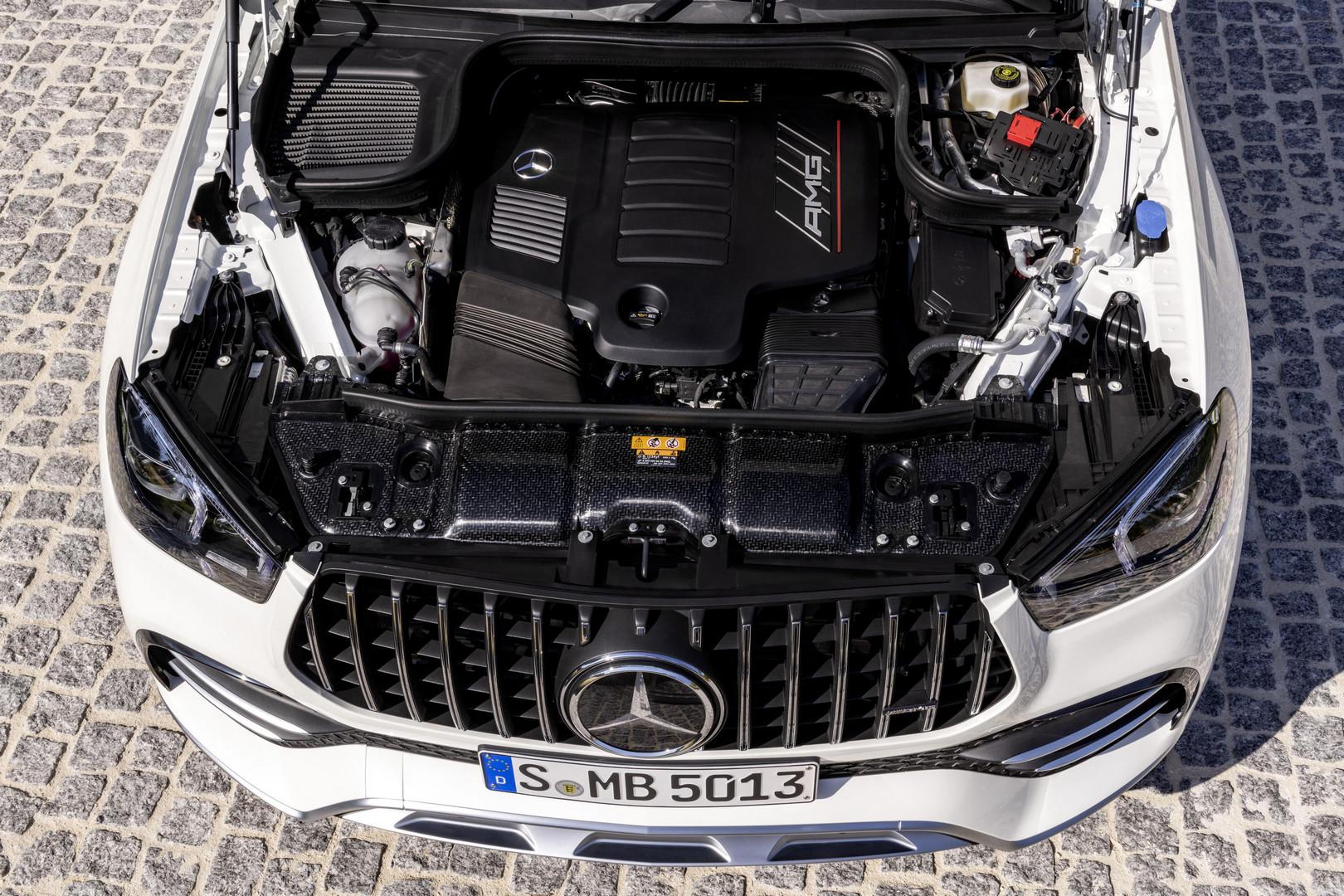 Mercedes-AMG GLE 53 Coupe Engine