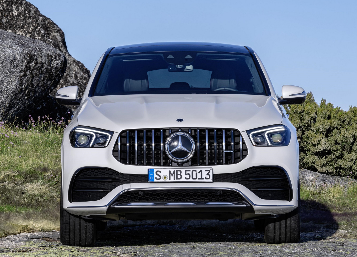 Mercedes-AMG GLE 53 Coupe Grille