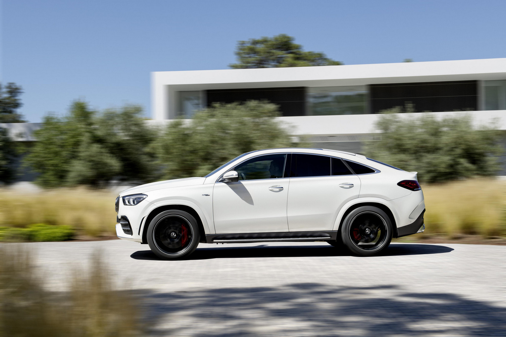 Mercedes-AMG GLE 53 Coupe Side View