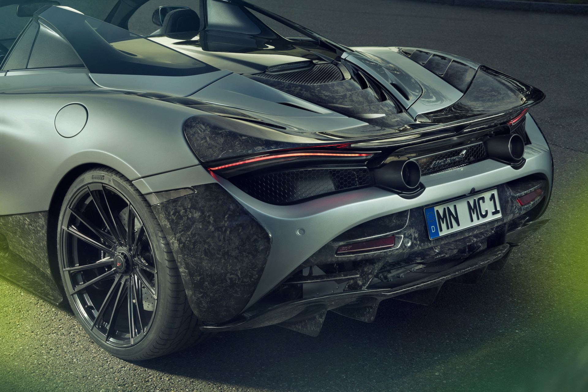 Novitec McLaren 720S Spider Rear Lights