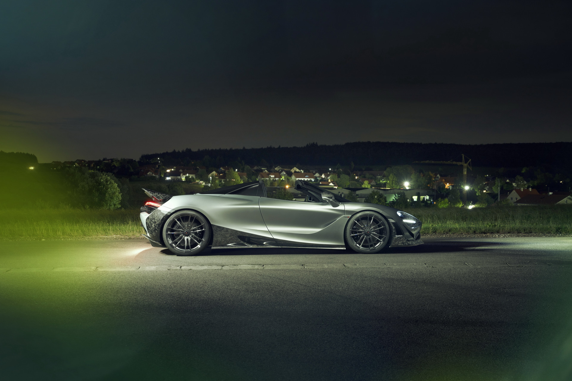 Novitec McLaren 720S Spider Side View