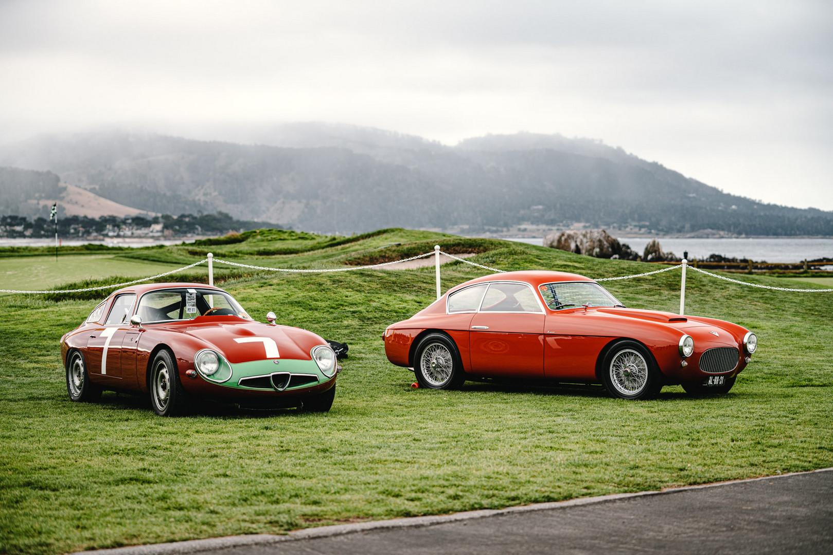 Pebble Beach Concours 2019 Alfa Romeo