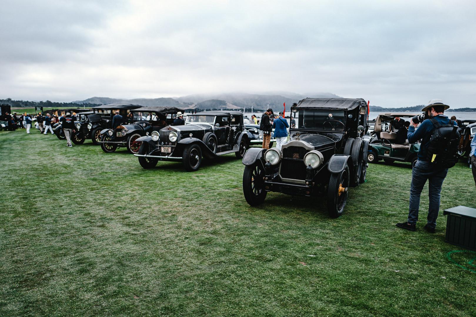 Pebble Beach Concours 2019 Vintage Cars