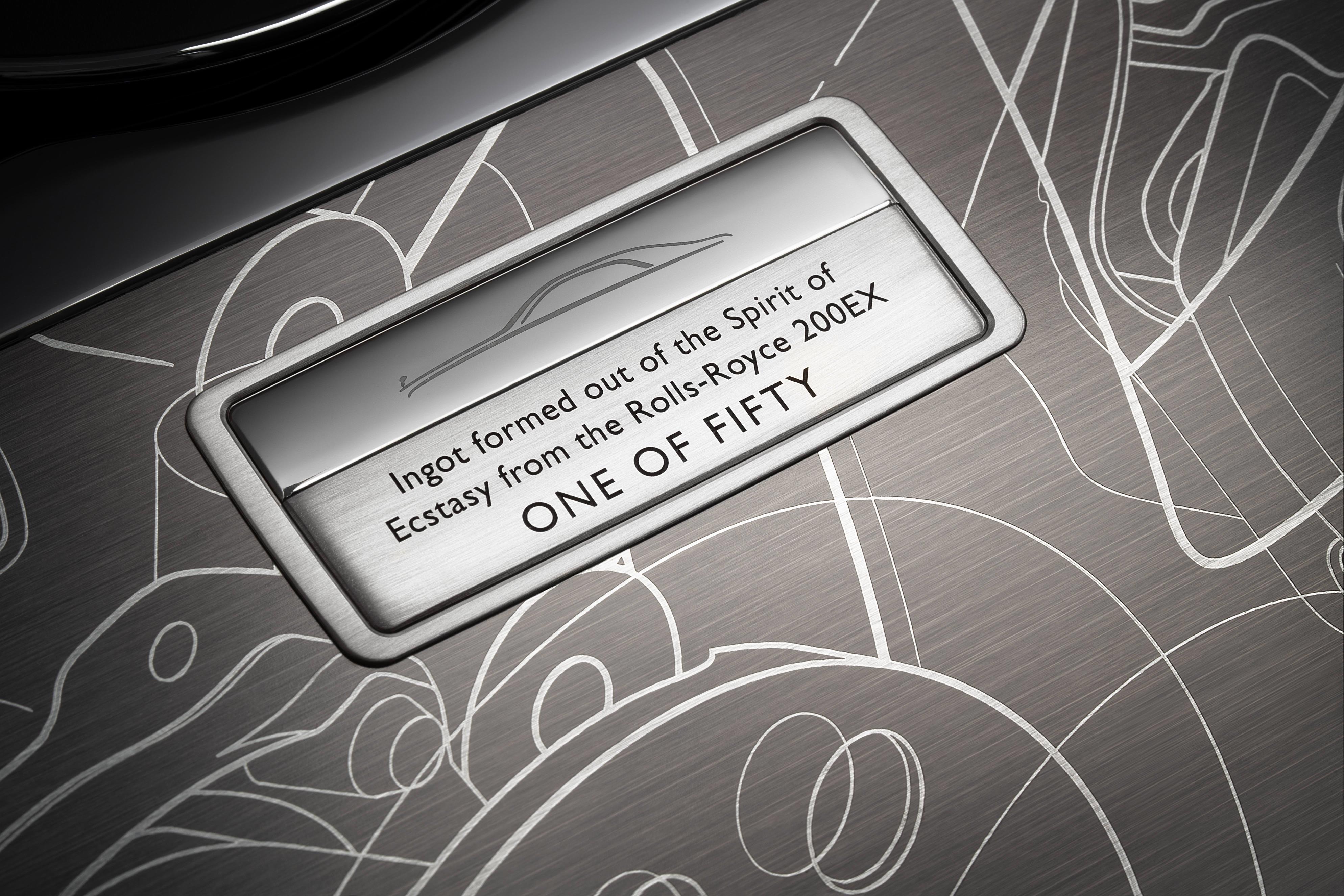 Rolls-Royce Ghost Plate