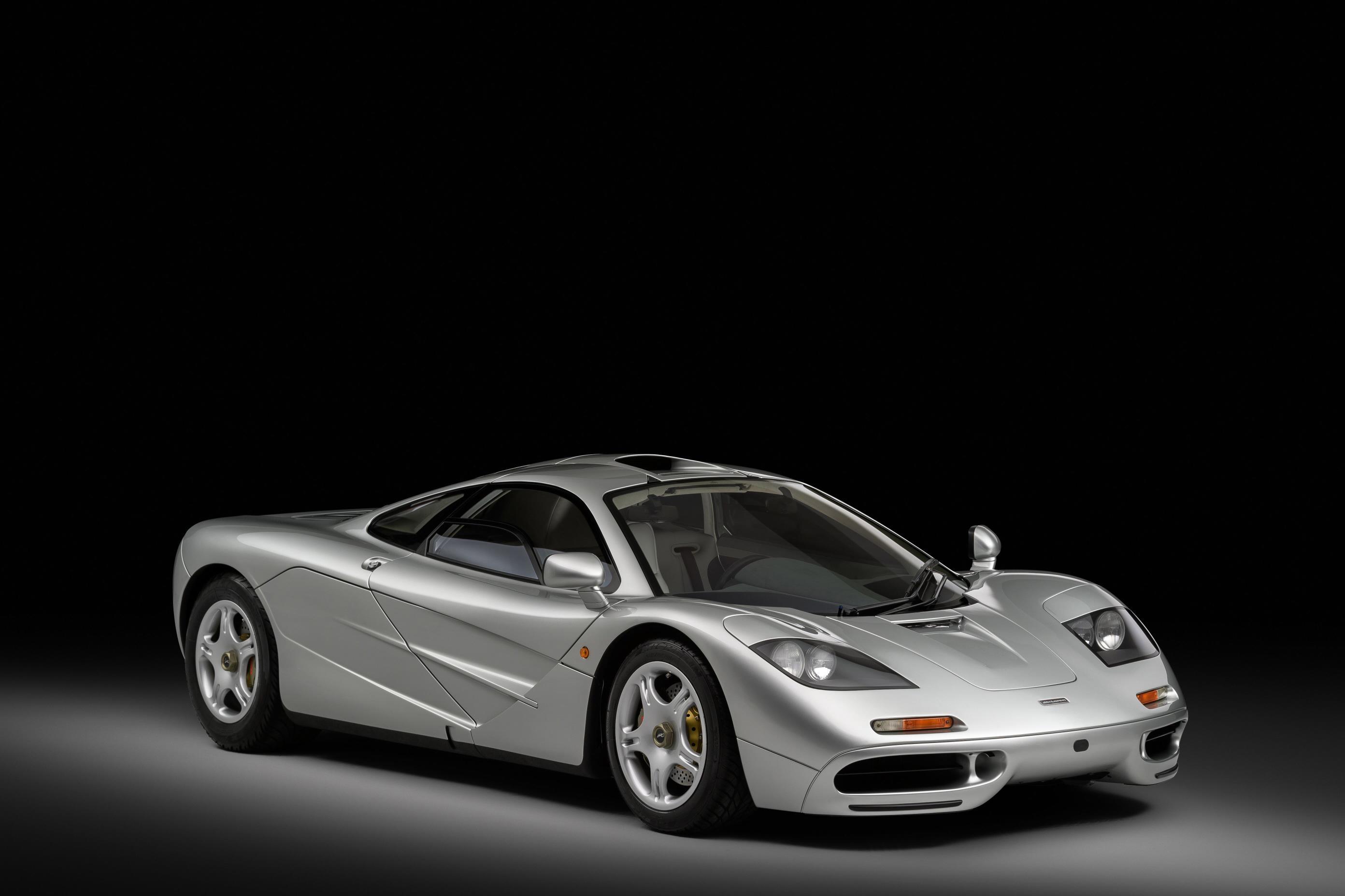 Silver McLaren F1