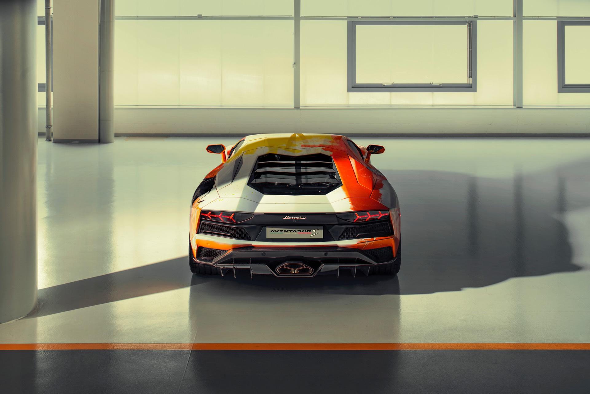 Skyler Grey Lamborghini Aventador S Art Car