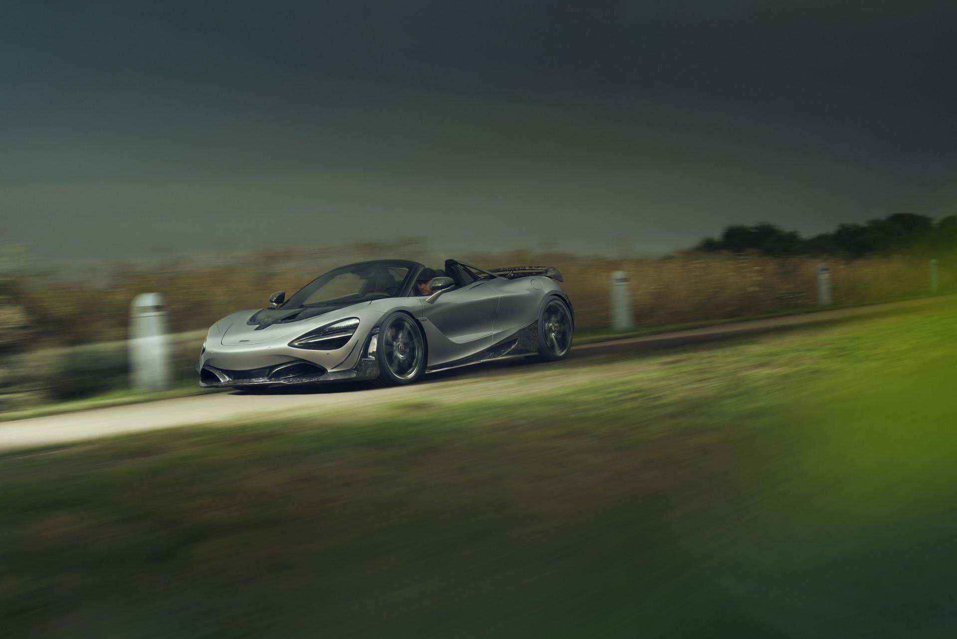 Tuned Novitec McLaren 720S Spider