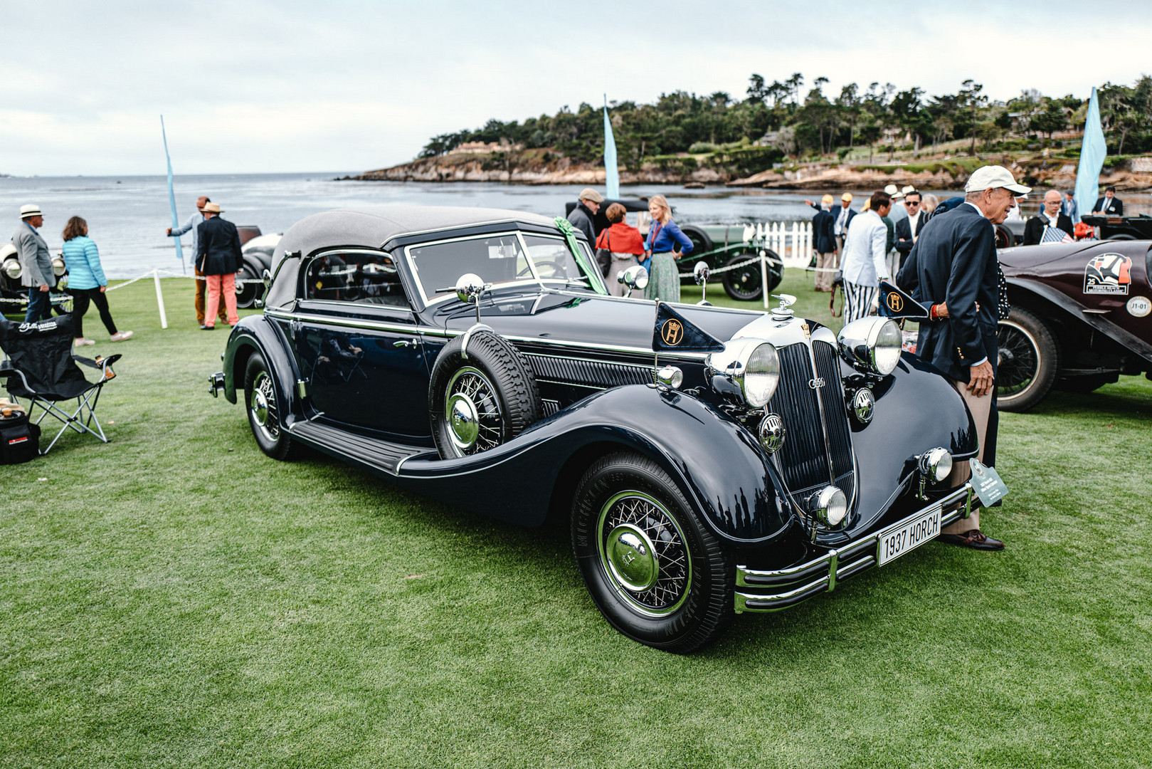 Vintage Car Pebble Beach