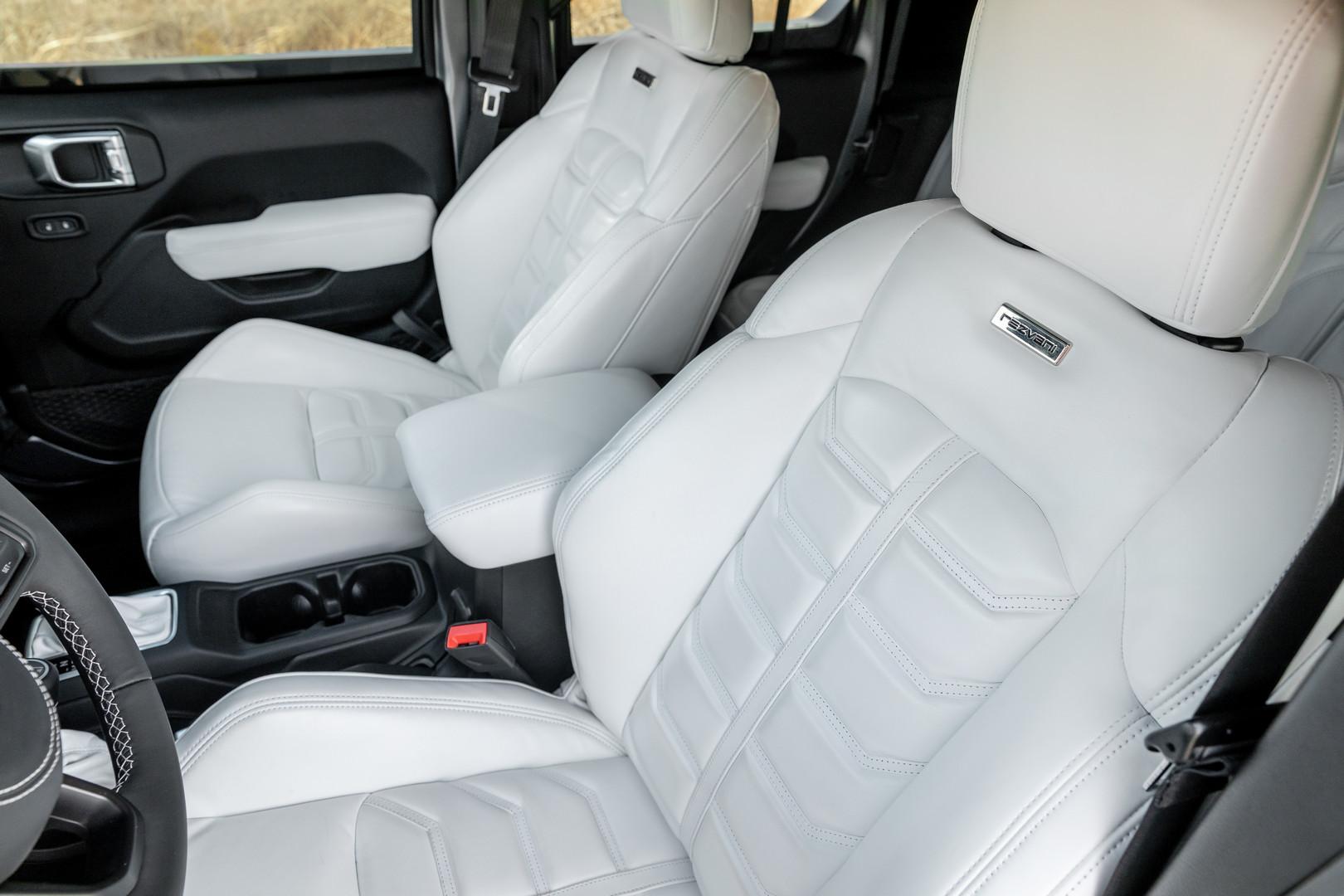rezvani tank interior seats