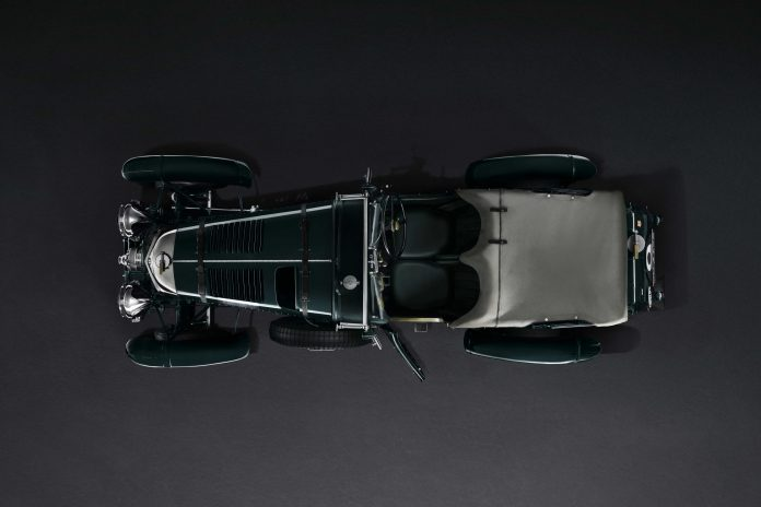 1929 Bentley Blower Top View