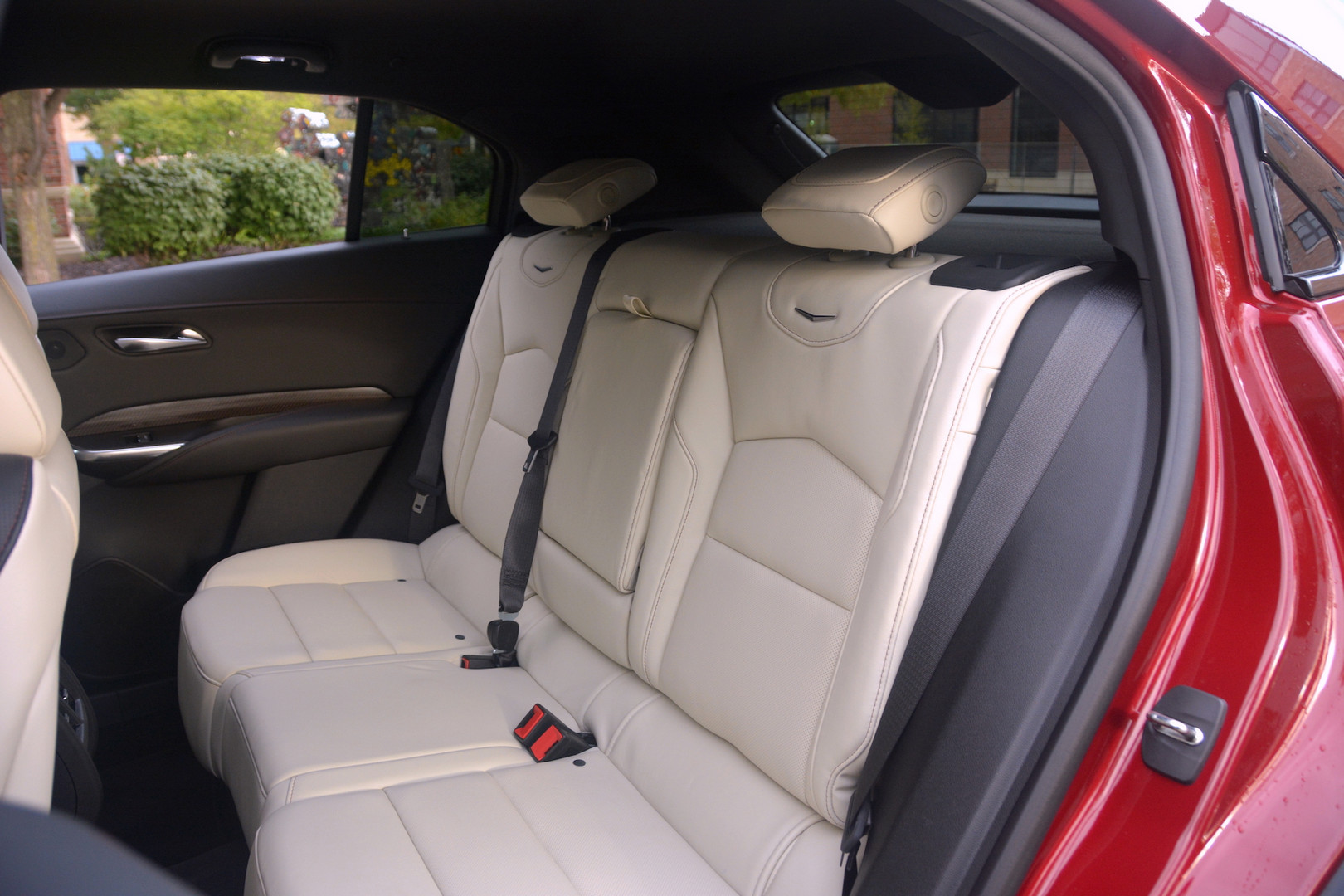 2019 Cadillac XT4 Rear Seats