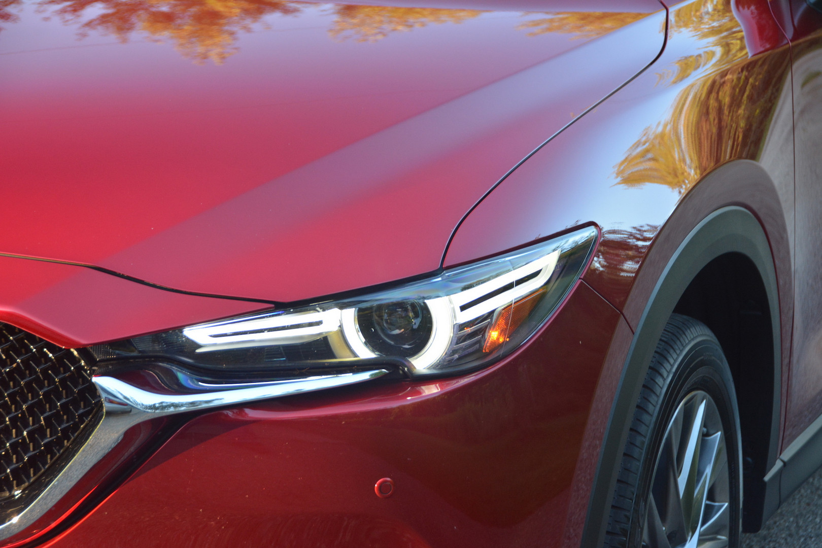 2019 Mazda CX5 Headlights