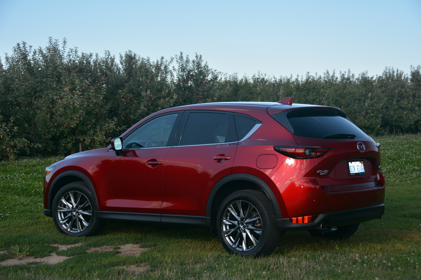 2019 Mazda CX5 Rear Side