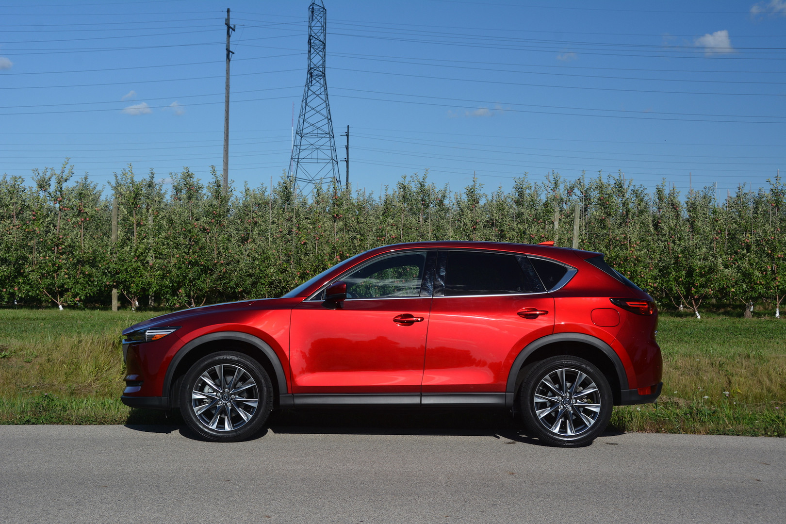 2019 Mazda CX5 Side View