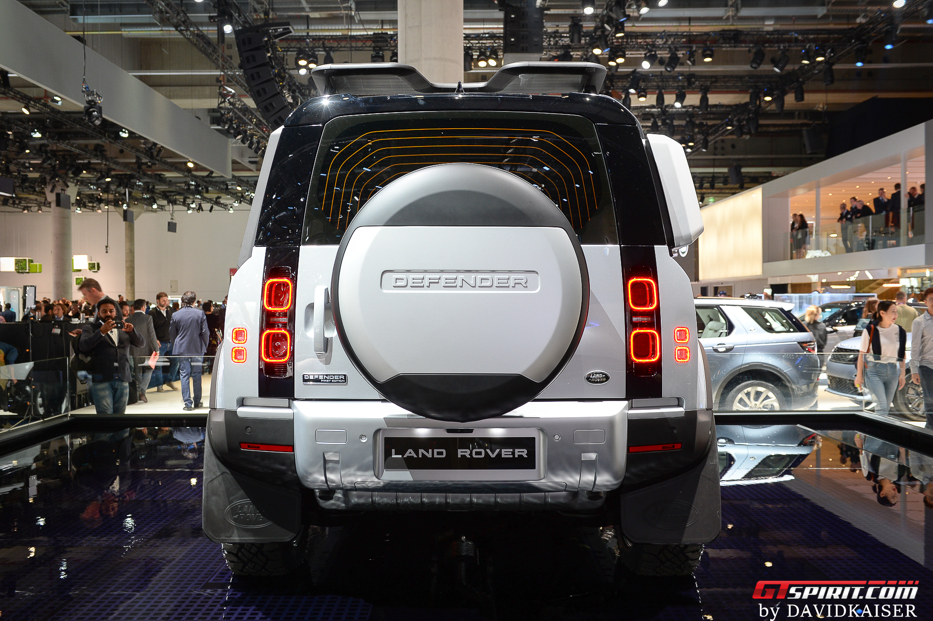 2020 Land Rover Defender 110 Rear