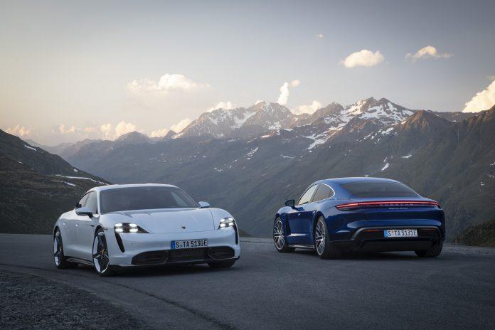 2020 Porsche Taycan Turbo and Turbo S