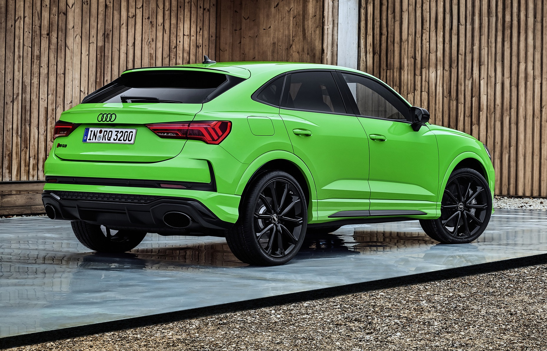 Audi RS Q3 Sportback Rear Side