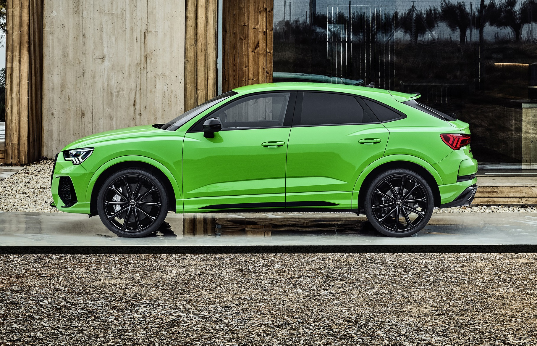 Audi RS Q3 Sportback Side View