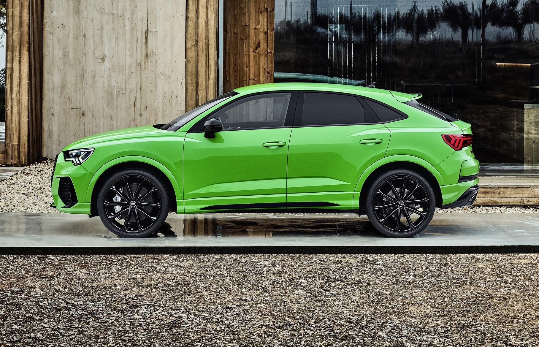 Audi RS Q3 Sportback Side View
