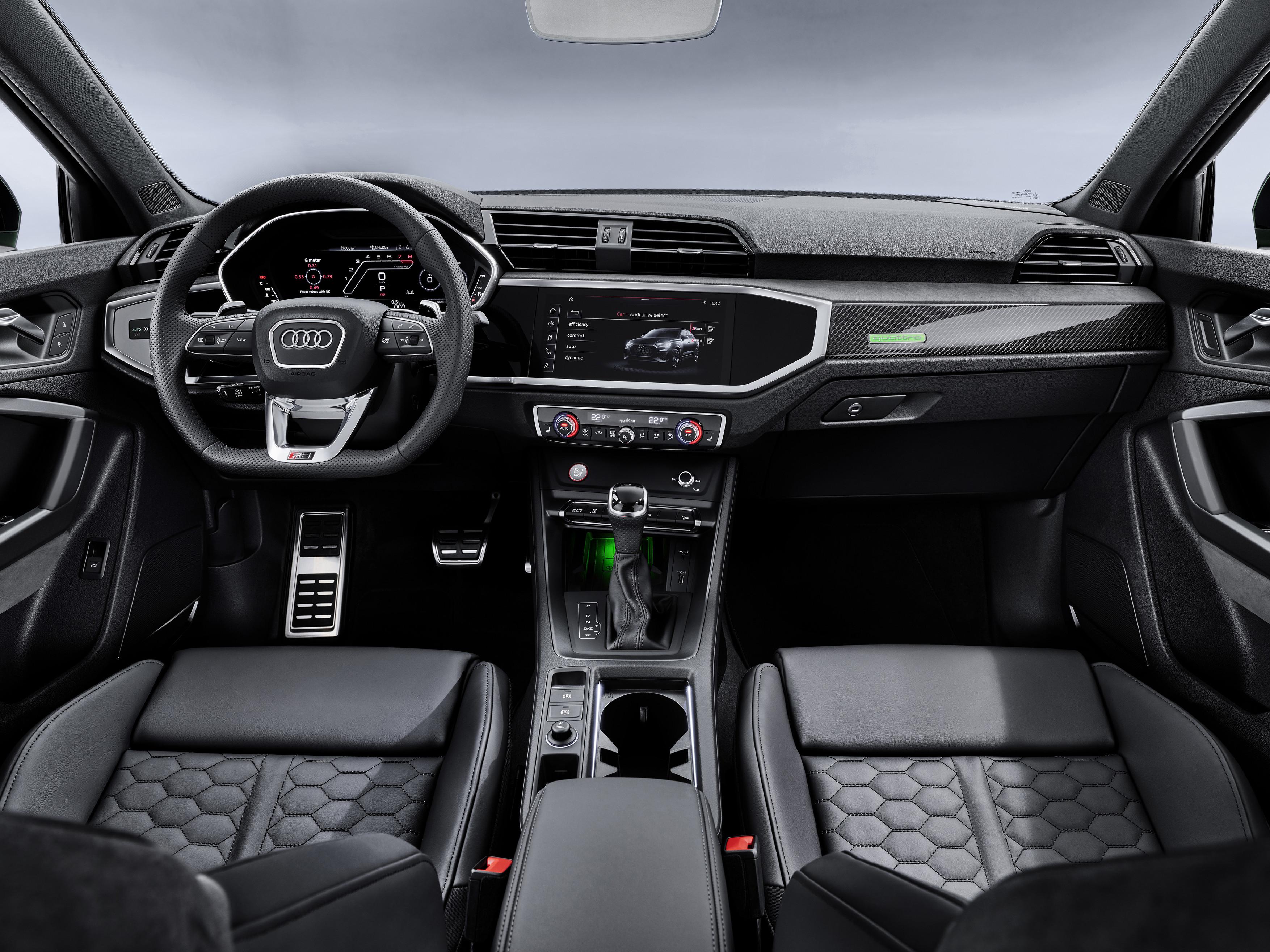 Audi RS Q3 Sportback Interior