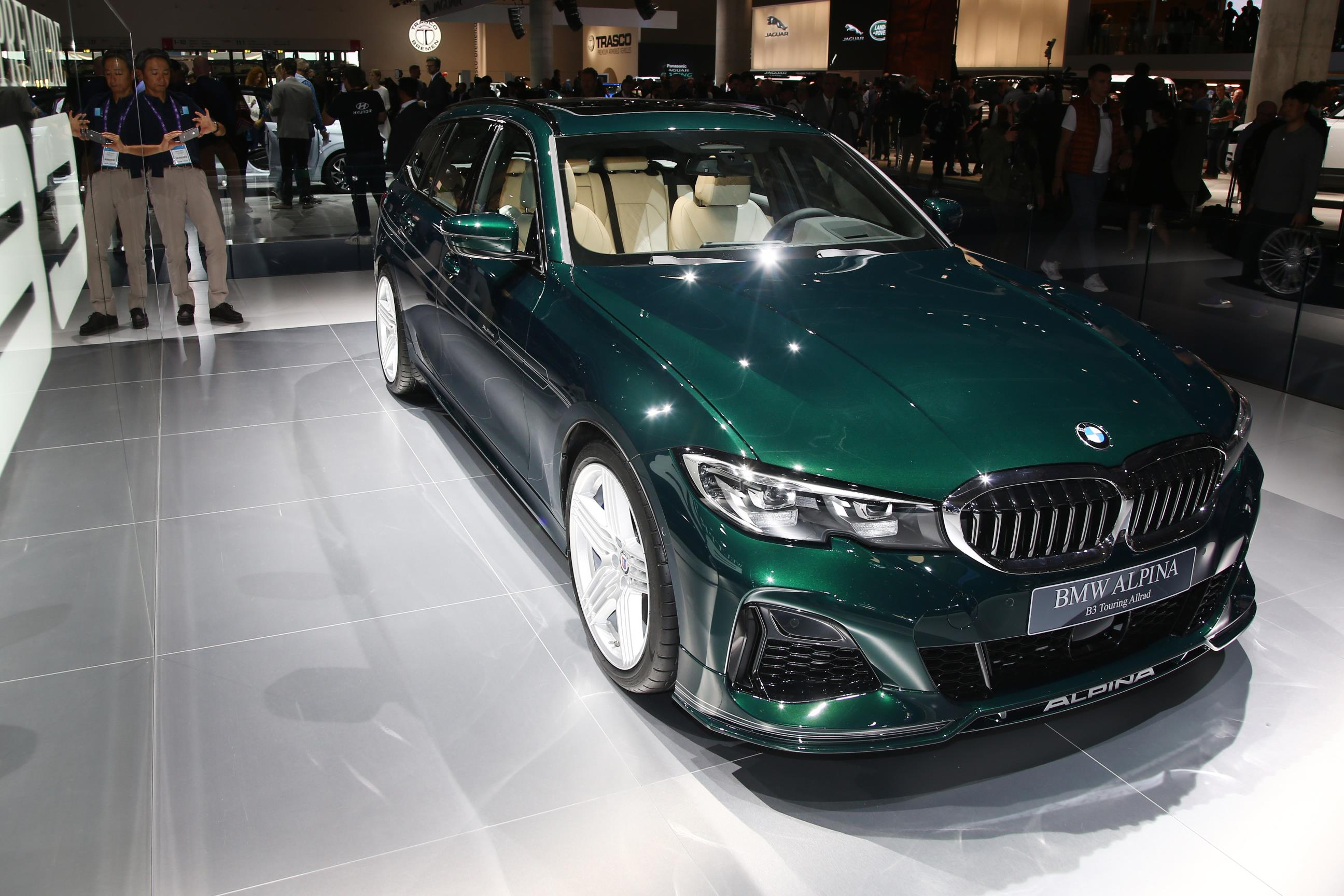 Alpina B3 Biturbo Touring Green