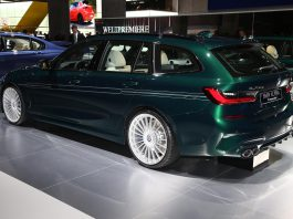 Alpina B3 Biturbo Touring Rear Side