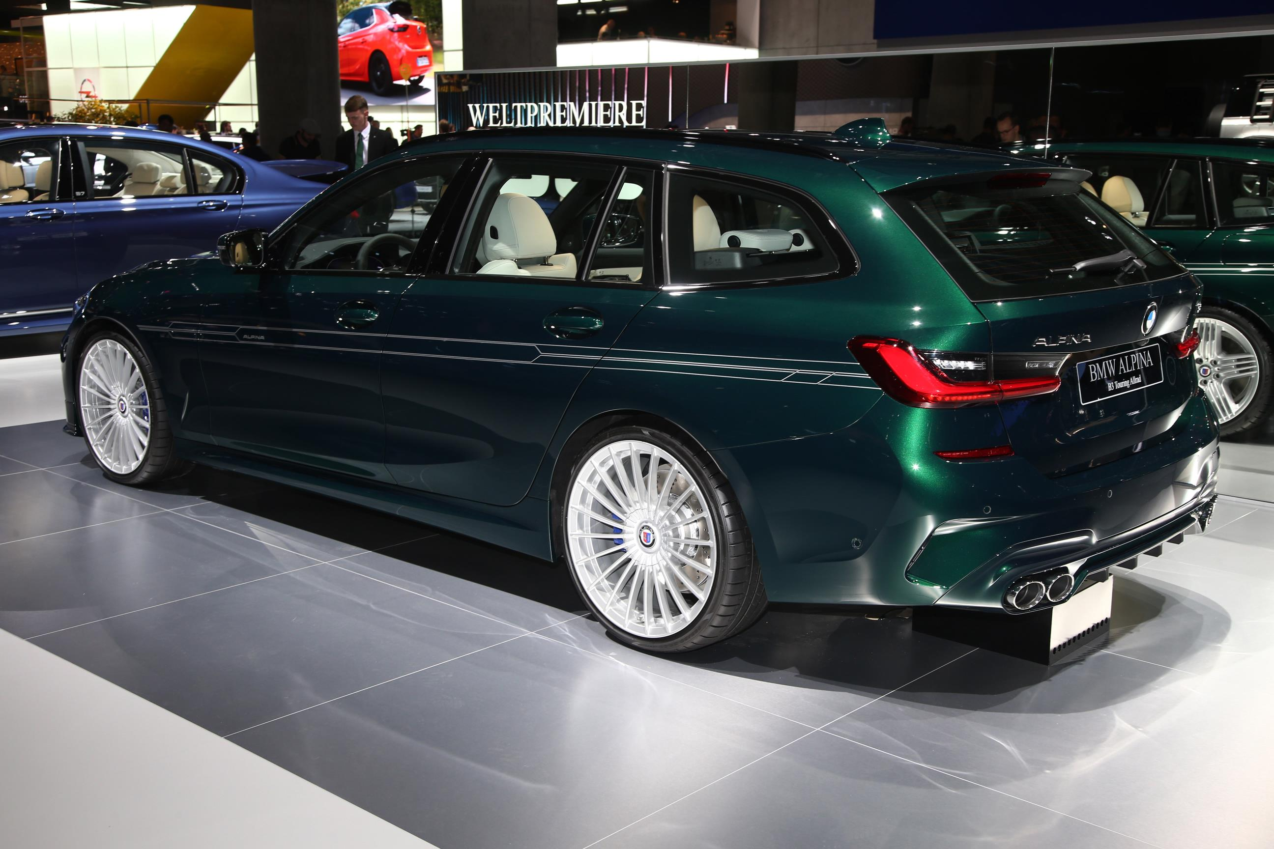 IAA Frankfurt 2019: Alpina B3 Biturbo Touring Live Photos