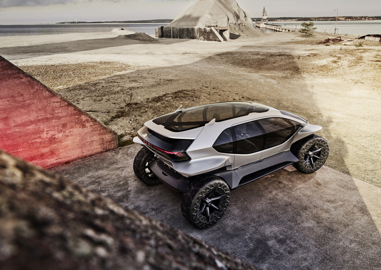 Audi AI:TRAIL quattro Solar Sky