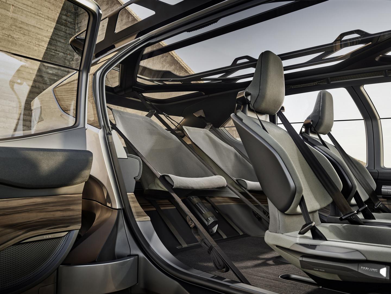 Audi AI:TRAIL quattro Seats