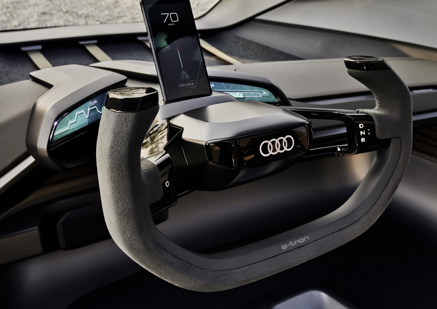 Audi AI:TRAIL quattro Steering Wheel