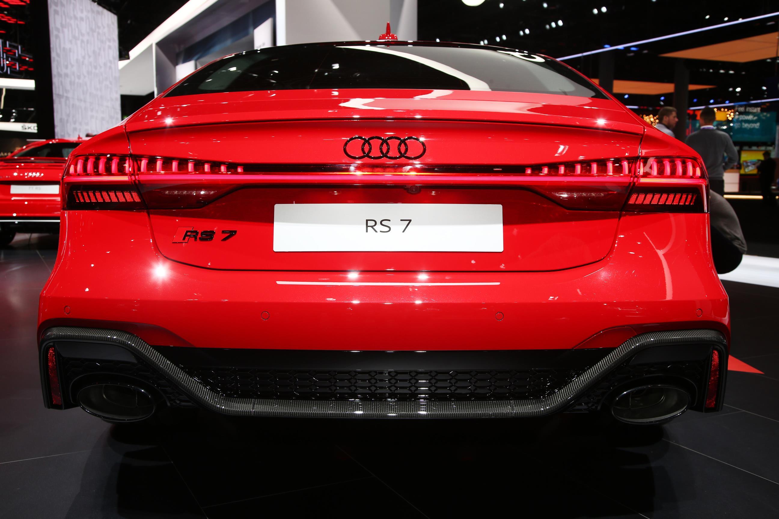 Audi RS7 Sportback Rear