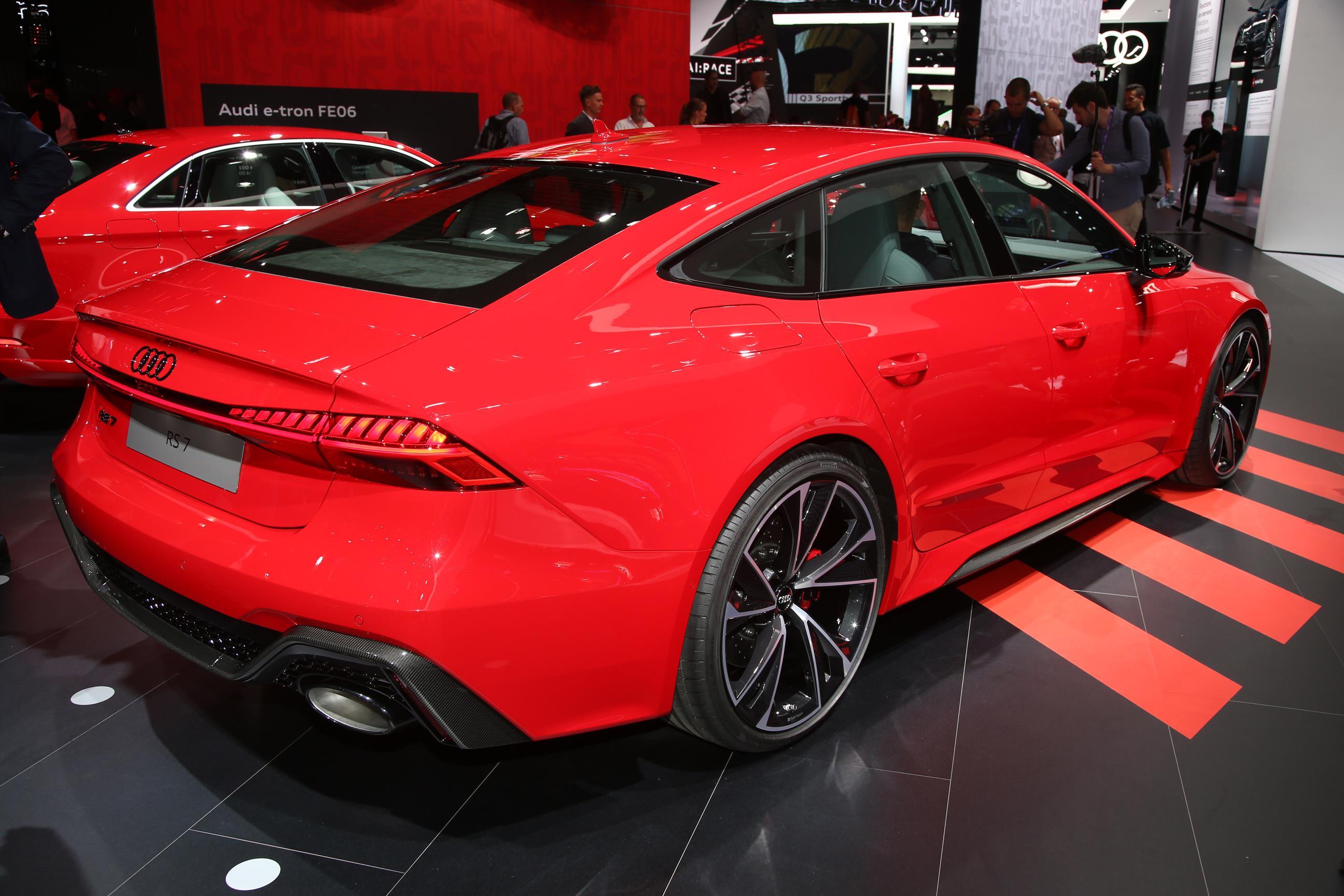 Audi RS7 Sportback Rear Lights