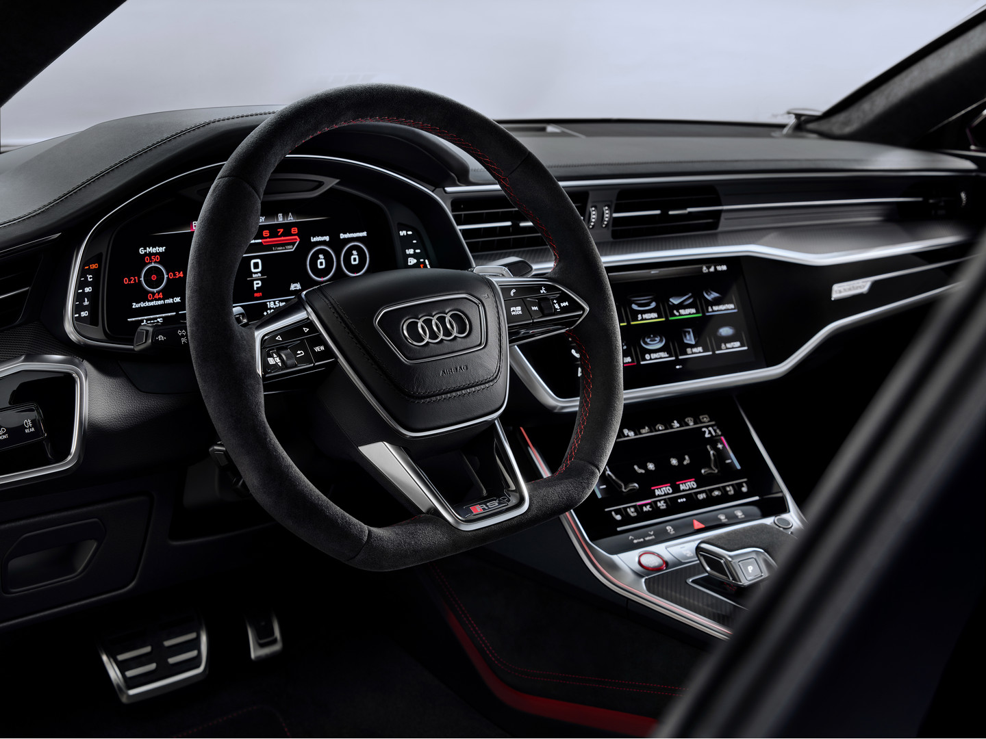 Audi RS7 Sportback Steering Wheel
