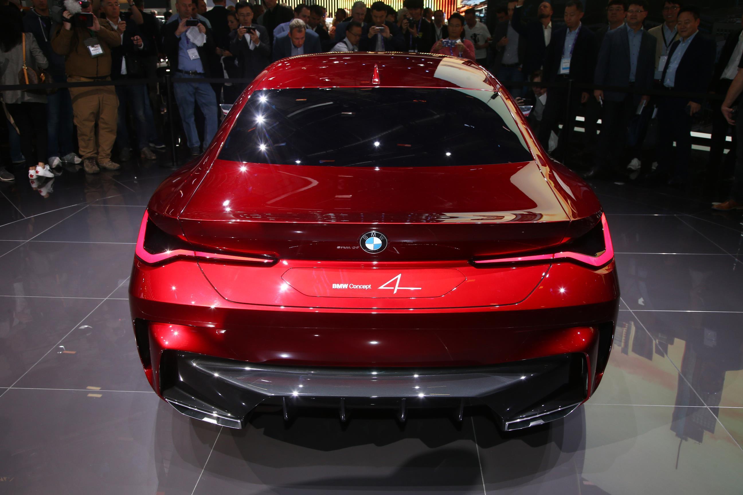 BMW Concept 4 Rear Lights