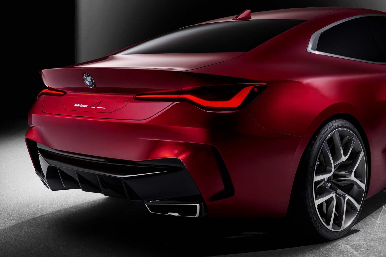 BMW Concept 4 Rear Lights