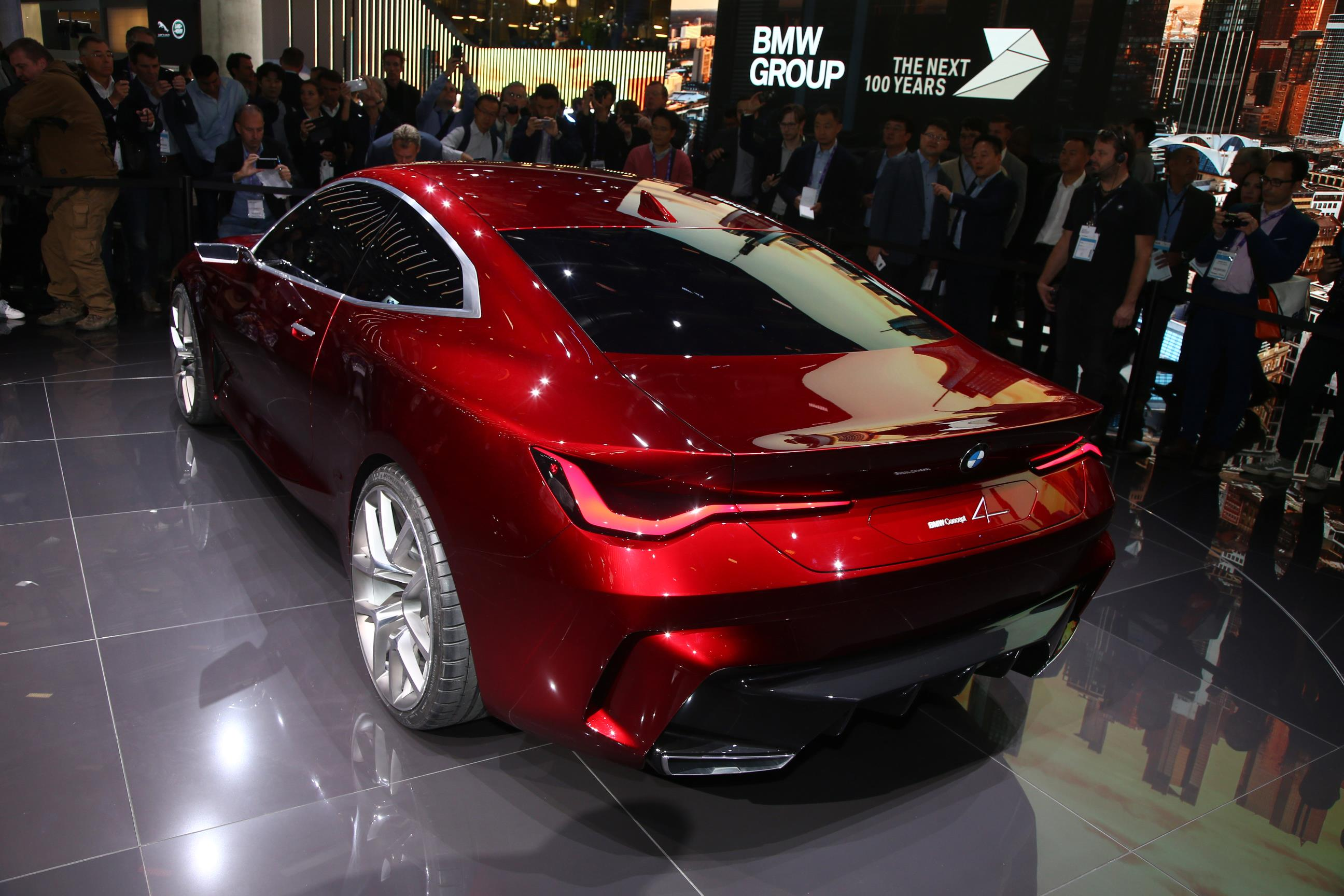 BMW Concept 4 Rear Side