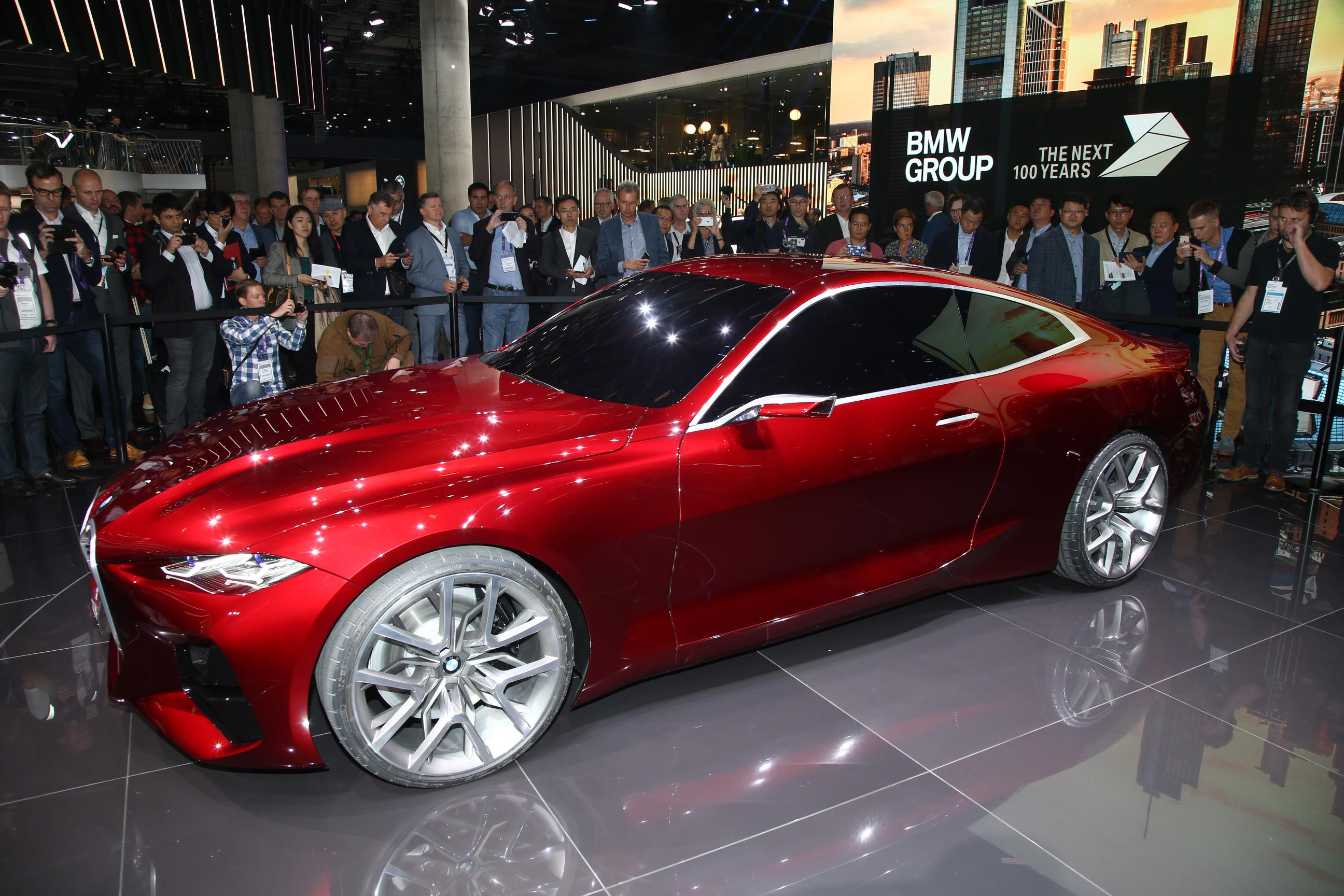 BMW Concept 4 Red