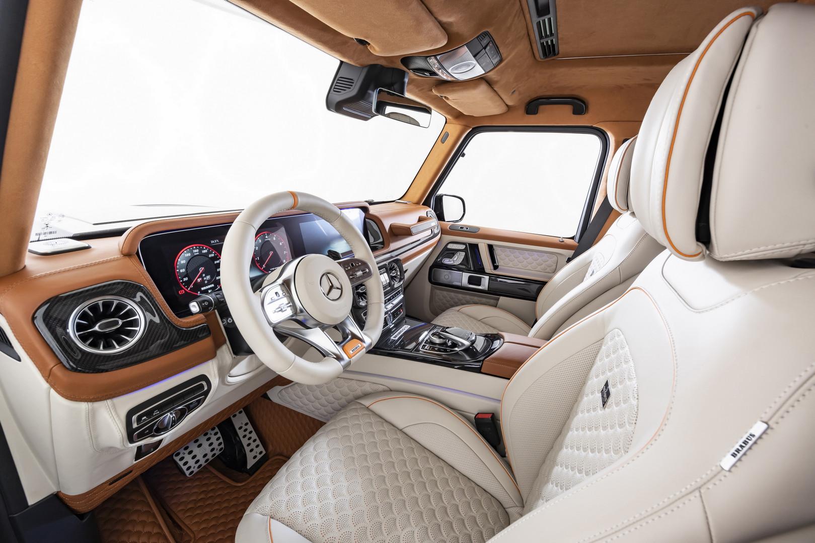 Brabus V12 900 Interior