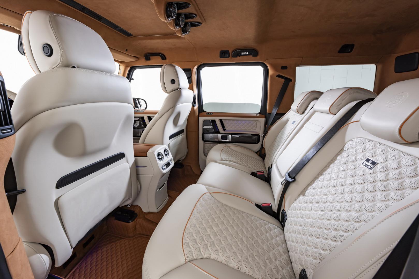 Brabus V12 900 Rear Seats