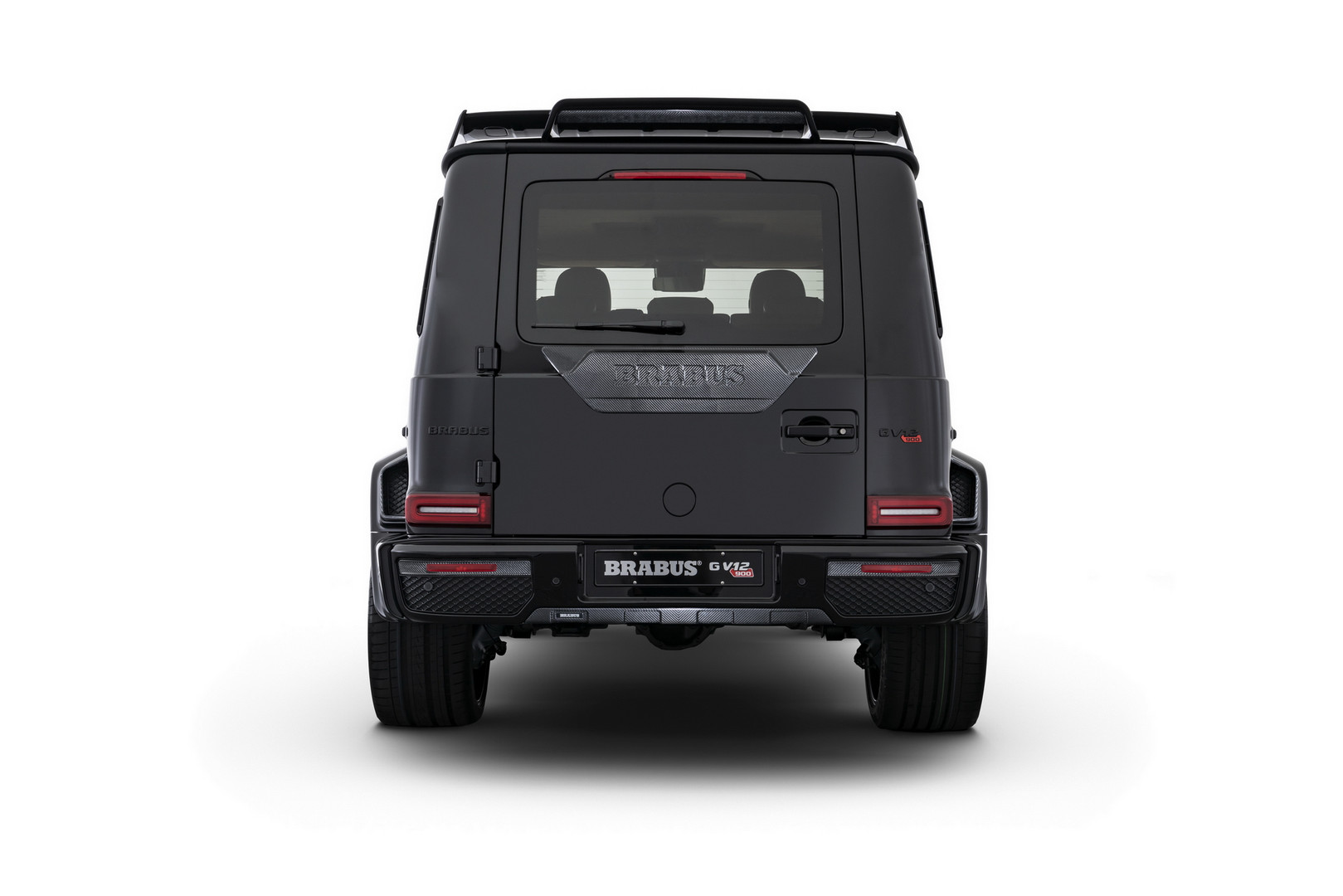 Brabus V12 900 Rear View